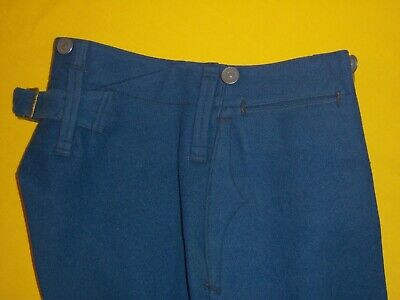 RARE 1908-1909 DATED USMC ENLISTED DRESS TROUSERS Size 31X30   2S  ISSUED NAMED