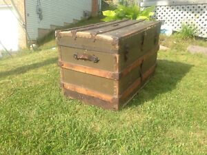 Vintage steamer trunk - could be used  as a coffee table