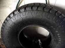 KUMHO 35's MUD AT ALL TERRAIN HUGE TYRES Near New 4x4, TOYOTA, MAZDA, Mackay 4740 Mackay City Preview
