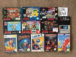 Nintendo NES N64 SNES GAMECUBE GAMEBOY PS1 items going cheap! Meadow Heights Hume Area Preview