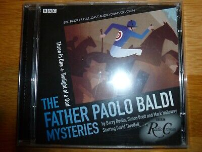 The Father Paolo Baldi Mysteries 2 x Audio Cd Three in One &Twlight of a God BBC