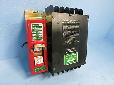 Asco 940310094x 100a 480v Automatic Transfer Switch Bulletin 940 100 Amp Ats