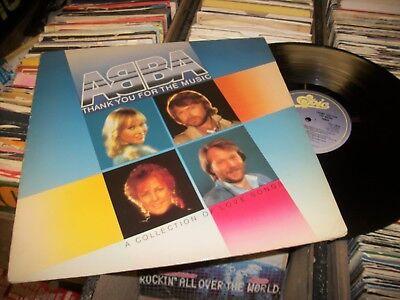 ABBA- THANKYOU FOR THE MUSIC VINYL ALBUM