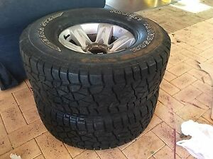 Nissan Patrol GU Rims and Tyres Canning Vale Canning Area Preview