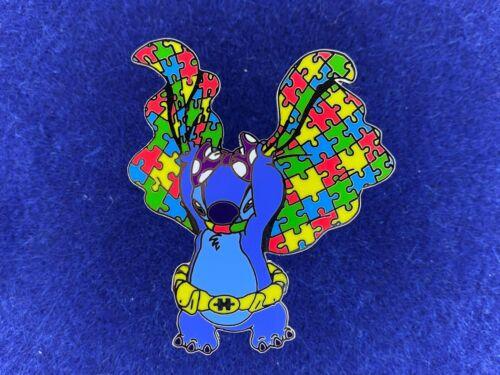 Super Stitch Autism Awareness Acceptance Fantasy Disney Pin