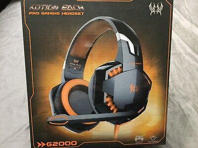 New KOTION EACH G2000 Gaming Headset Earphone 3.5mm