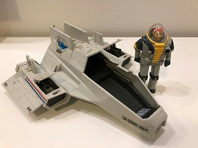 1984 Hasbro G.I. Joe Deep Six Action Figure & SA-Sharc-335m Submarine Vehicle