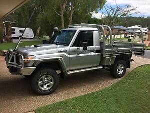 Toyota Landcruiser VDJ79R GX Ute in excellent condition Samford Valley Brisbane North West Preview