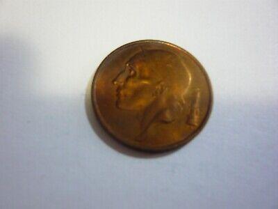50 centimes belgique pièce - belgie munt 1958