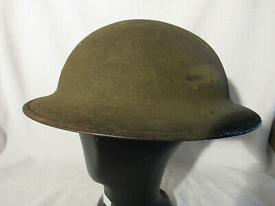 Vintage WWI US Military P-17 Helmet ZD65 With Liner