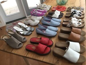 15 Pairs of Womens Shoes, Selling as an Entire Lot, Size 9