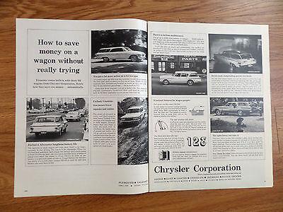 1962 Chrysler Plymouth Dodge Lancer Fury Valiant Ad