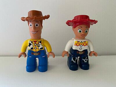 Lego Duplo Disney Woody Jesse Toy Story Figures Minifigs Lot Set NEW