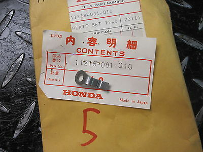 Honda 11218-081-010 CAMSHAFT BUSHING SETTING PLATE (17.5MM) QA 50