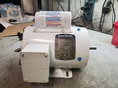 Baldor 34 Hp Electric Ac Washdown Motor 120240 Vac 1725 Rpm 56c Frame 3