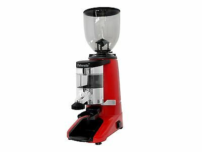New Futurete D64 Commercial Espresso Bean Grinder With Doser And Auto Stop