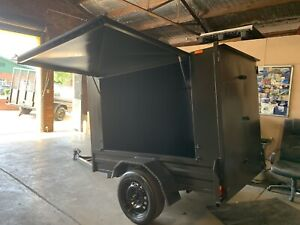 Brand new 7x4x5 fully enclosed trailer