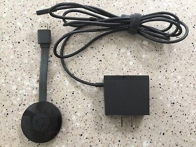 Google Chromecast 2nd generation. includes ethernet adapter