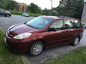 Toyota Sienna 2006 Saint John Toyota dealer maintain.