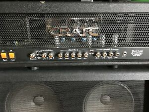 Crate Blue Voodoo 120w head with Crate 4x12