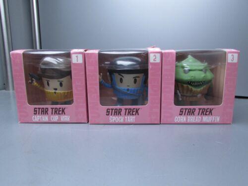 Star Trek FunEdibles Set of 3 Slight Damage