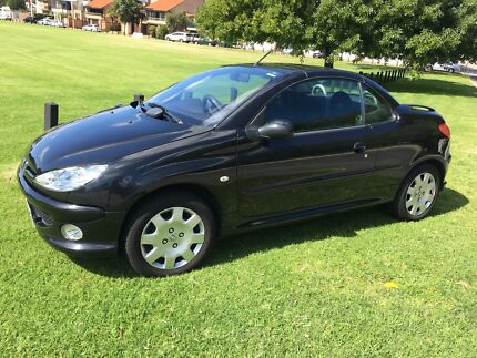 2006 Peugeot 206 CC manual convertible  Bentley Canning Area Preview