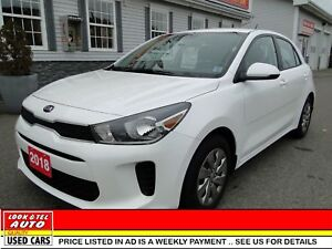 2018 Kia Rio 5 you're approved $62.17 a week tax inc . LX