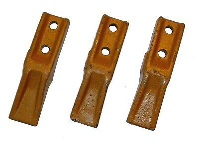 Flachzahn Baggerzahn Anschraubzahn Schaufelzahn Lochabstand 40-45 mm Minibagger