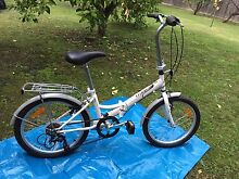 Fold up bicycle & Lazer Sport helmet Ringwood Maroondah Area Preview