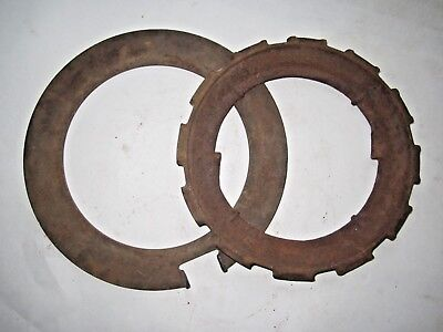 Vintage John Deere Cast Iron H948b Seed Planter Plate Ring Spacer Steampunk