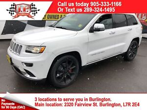 2014 Jeep Grand Cherokee Summit, Navi, Leather, Pan Sunroof, 4x4