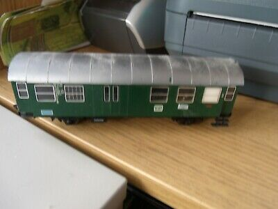 HO Fleischmann 5050 Mail Wagon green Passenger Car  Ansbach in box