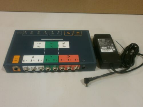 Cisco Cts-laeb-g2r Telepresence Tx9000 Audio Video Extender W/ Power Supply