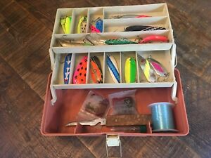 Fishing tackle box - lures