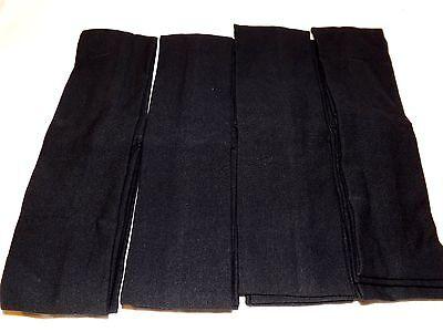 12 pcs Black Headbands Cotton Elastic Stretch Headband . (Bulk Headbands)