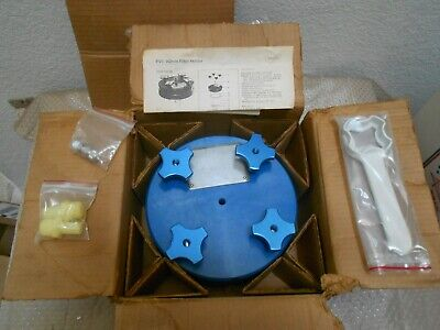New Millipore P. V. C. Fliter Holder Yy4014200 142 Mm With Accessories
