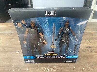 Marvel Legends Thor & Marvel's Valkyrie Tessa Thompson MCU Ragnarok Double Pack