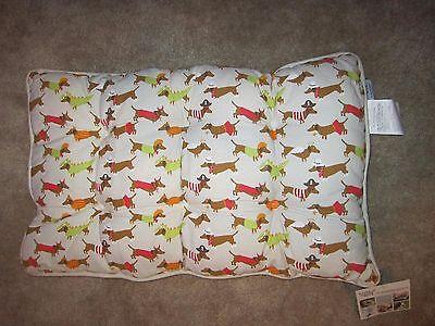 Dachshund Halloween Themed Dog Crate Weiner Dog Pet Cotton Bed  NWT (Halloween Weiner Dog)