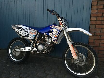 2004 Yamaha yzf250 dirt bike may swap