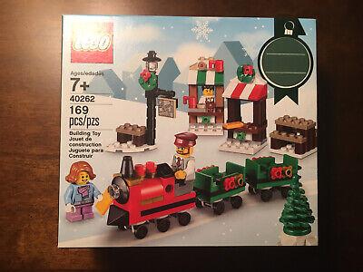 New Lego Holidays 40262 Seasonal Christmas Train Ride Building Set Gift