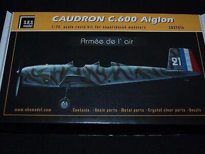 S.B.S Models 1:72 7014 Caudron C.600 Aiglon ''ARMEE DE l''AIR'' full kit