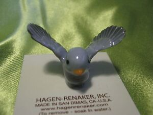 Hagen-Renaker-Pa-Tweetie-Bird-Blue-Figurine-Miniature-00482-Ceramic-FREE-SHIP