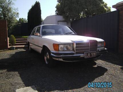 1976 Mercedes-Benz 280 S Sedan W116 Vermont South Whitehorse Area Preview