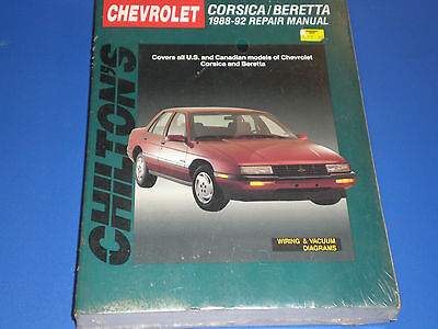 Chevrolet Corsica Beretta 1988-1992 Chilton Repair Manual  PN  8254