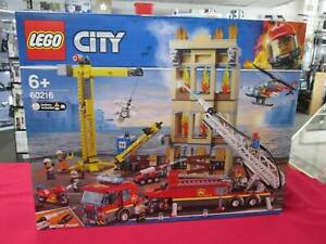 LEGO CITY 60216 DOWNTOWN FIRE BRIGADE ( BNIB ) Miller Liverpool Area Preview