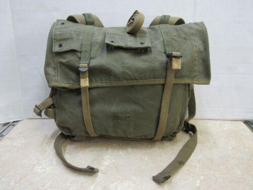 USMC M1941 Haversack Upper Pack Korean Era 4th Pattern Named