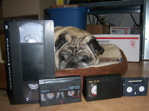 Convert VHS VHS-C Hi8 Hi 8 MiniDV 8mm video tape to DVD