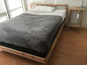 Double bed by IKEA