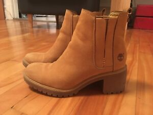Bottines d'hiver à talons Timberland taille 7