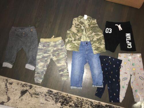 Zara H&M Baby Boy Toddler Boy Clothes Size 18-24 months 2T Lot Bundle Pants Vest